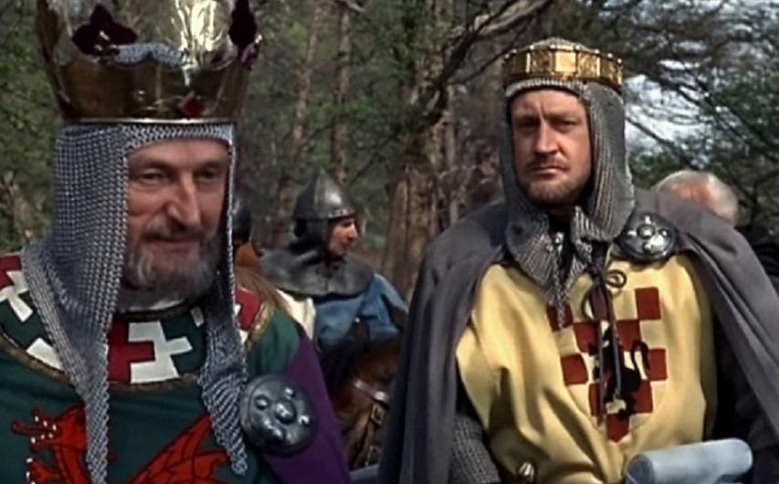 Кадр из фильма «Саксы захватывают трон»