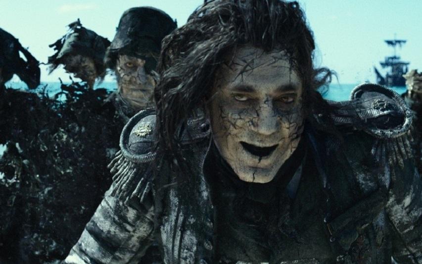 Кадр из фильма «Пираты Карибского моря: Мертвецы не рассказывают сказок»