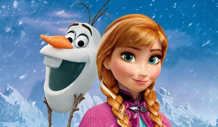 Постер мультфильма «Холодное сердце»