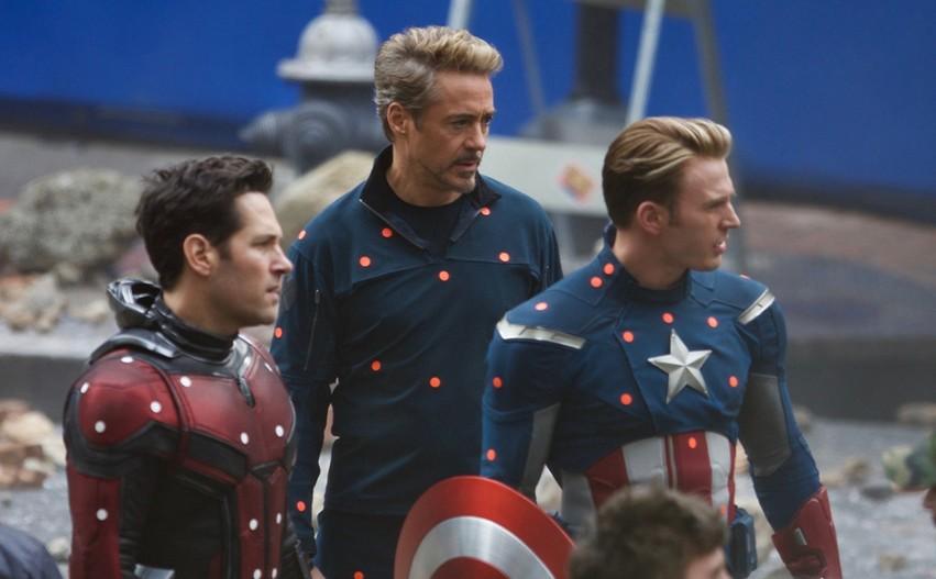 На съемках фильма «Мстители. Финал». Фото с сайта mirf.ru