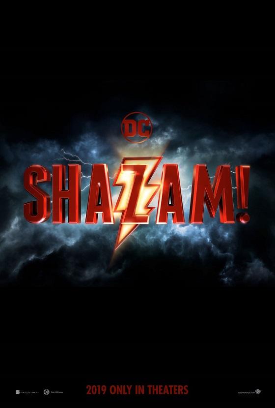 Постер фильма «Шазам!»