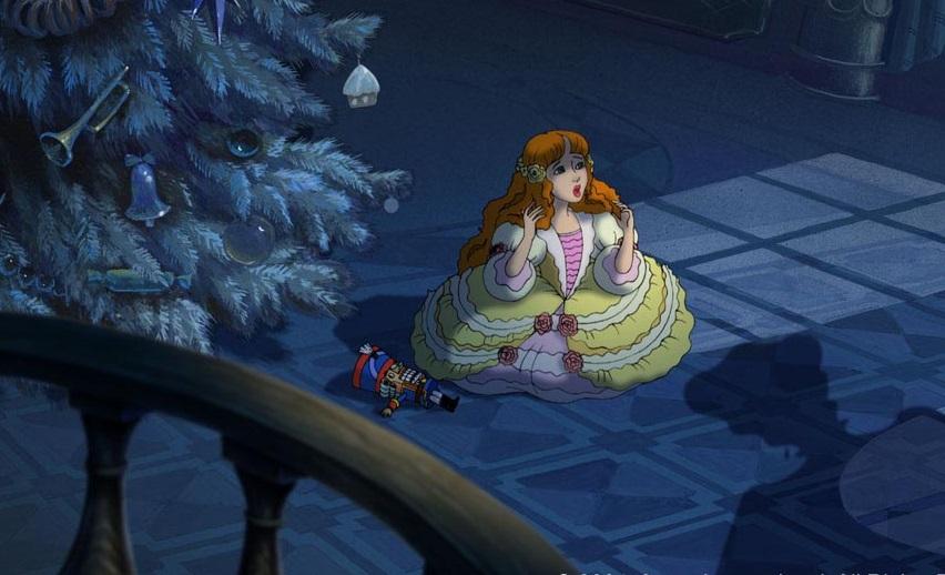 Кадр из мультфильма «Щелкунчик и Мышиный король»
