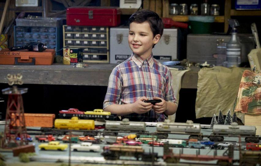 Кадр из сериала «Детство Шелдона»
