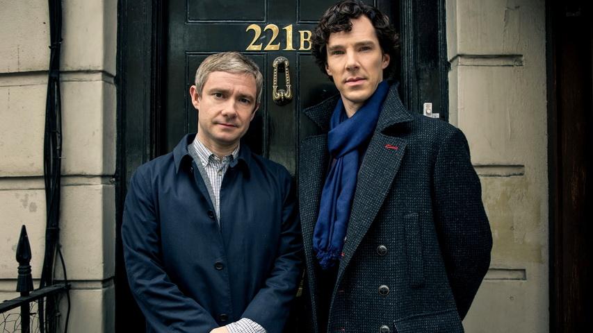 Постер к сериалу «Шерлок». Изображение с сайта my-loveli-film.ru