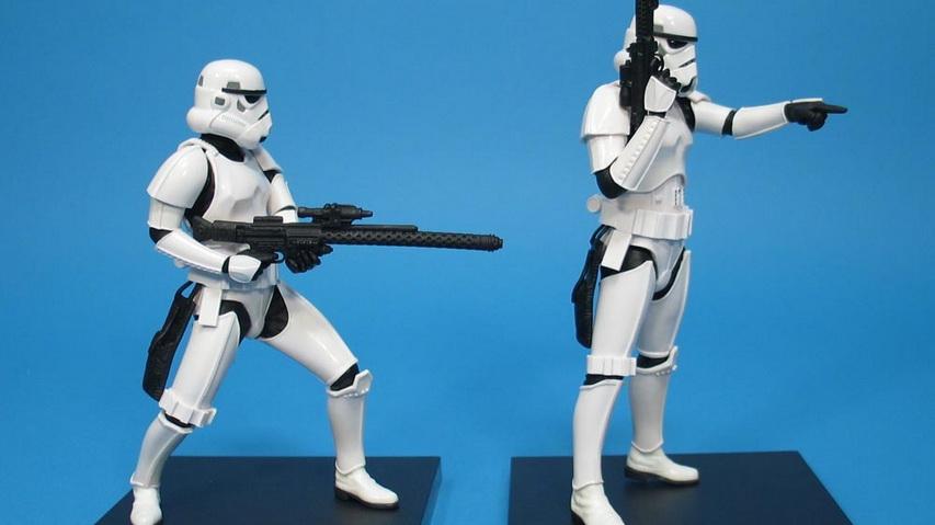 Фигурки героев фильма «Звездные войны». Фото с сайта geekzona.ru