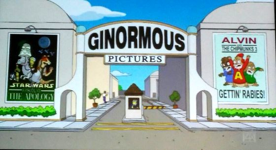 Кадр из мультфильма «Симпсоны»