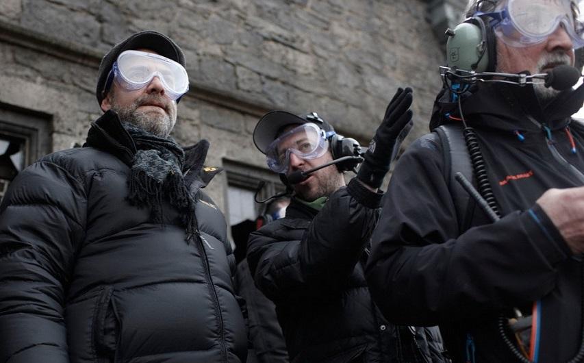 На съемках фильма «007: Координаты Скайфол». Фото с сайта kinopoisk.ru