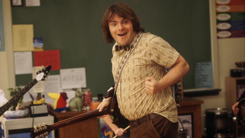 Кадр из фильма «Школа рока»