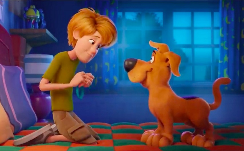 Кадр из мультфильма «Скуби Ду»