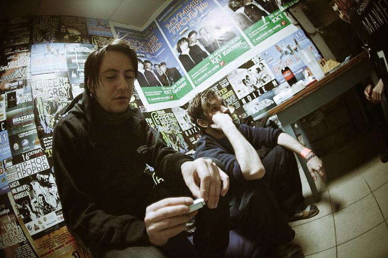 Андрей «Az» Зырянов и Андрей «Слесарь» Оплетаев. Фото — Иван Клейменов