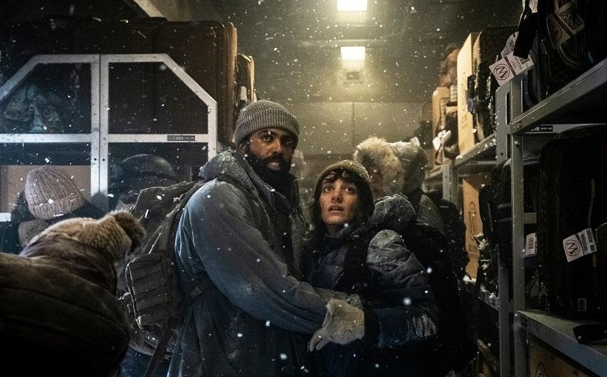 Кадр из сериала «Сквозь снег»
