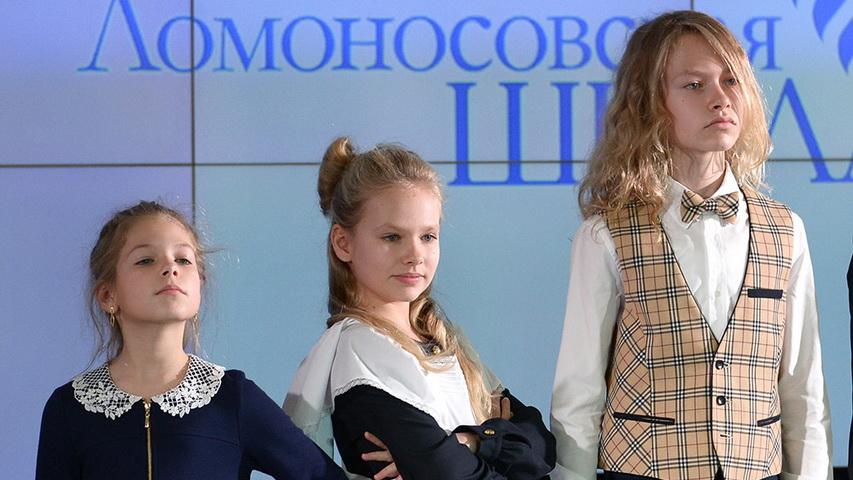 Дети Владимира Соловьева. Фото с сайта super.ru