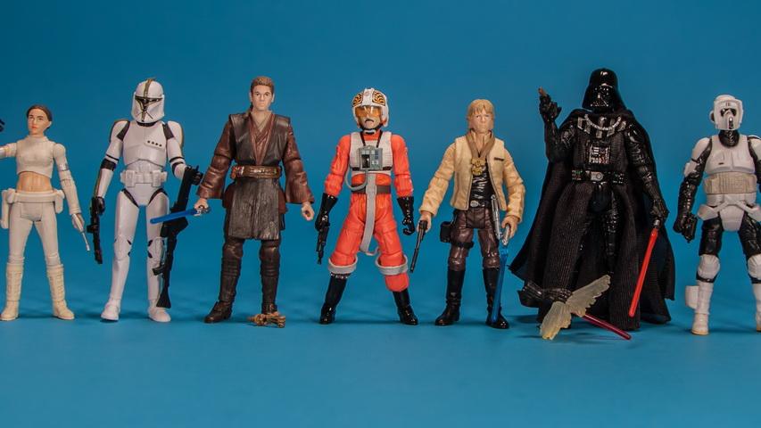 Набор фигурок героев фильма «Звездные войны». Фото с сайта see2me.ru