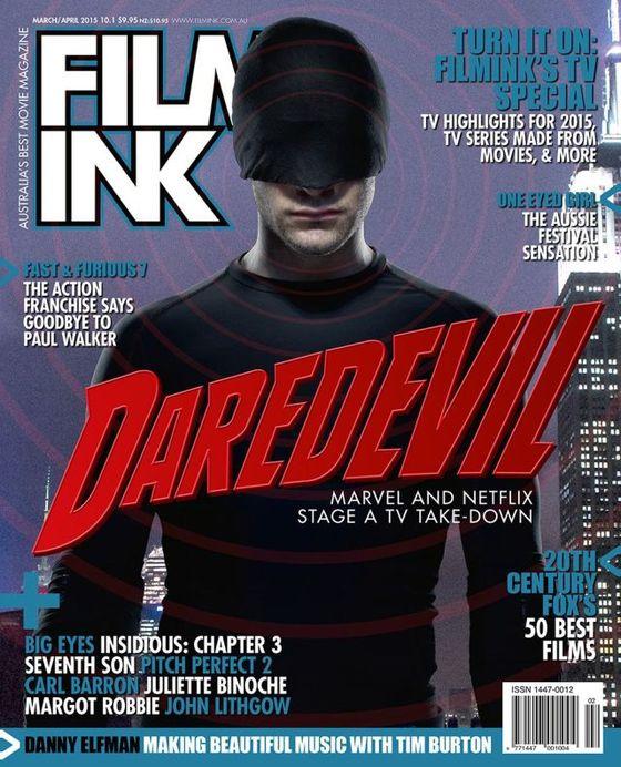 Обложка журнала Film Ink