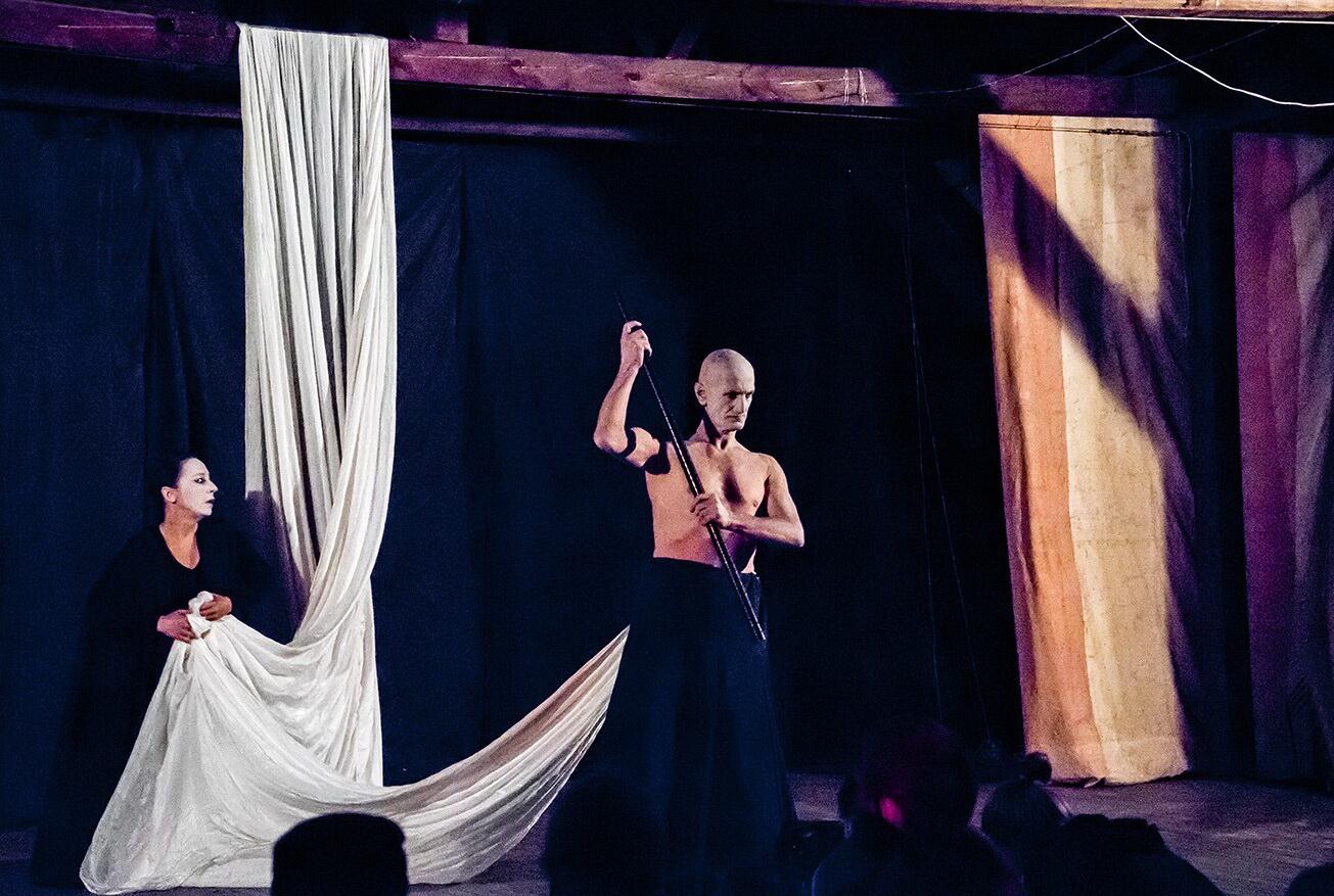 Фото со спектакля «Божественная комедия» предоставлено организаторами
