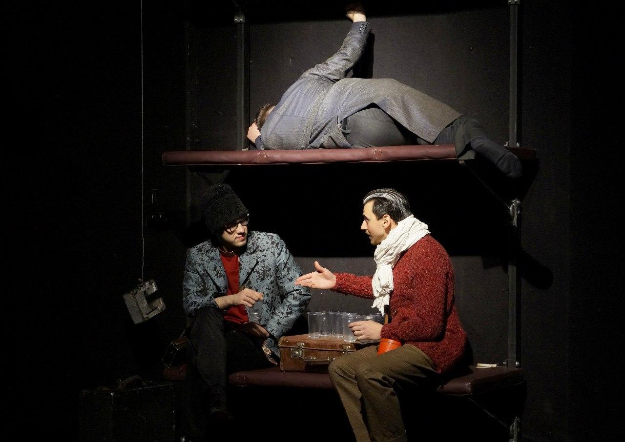 Спектакль «Пассажиры». Фото предоставлено организаторами