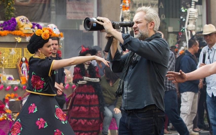 На съемках фильма «007: Спектр». Фото с сайта kinopoisk.ru