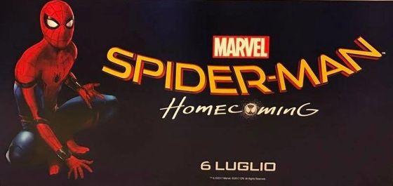 Промо-постер фильма «Человек-паук. Возвращение домой»