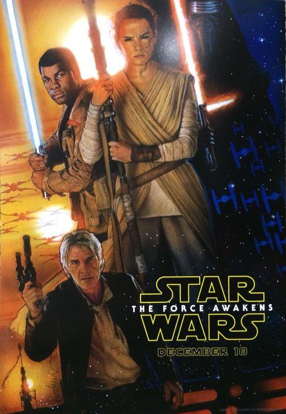 Постер фильма «Звездные войны. Эпизод VII. Пробуждение силы»