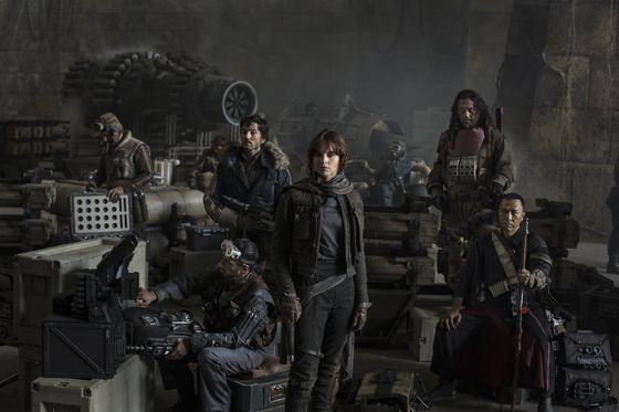 Кадр из фильма «Звездные войны. Изгой»