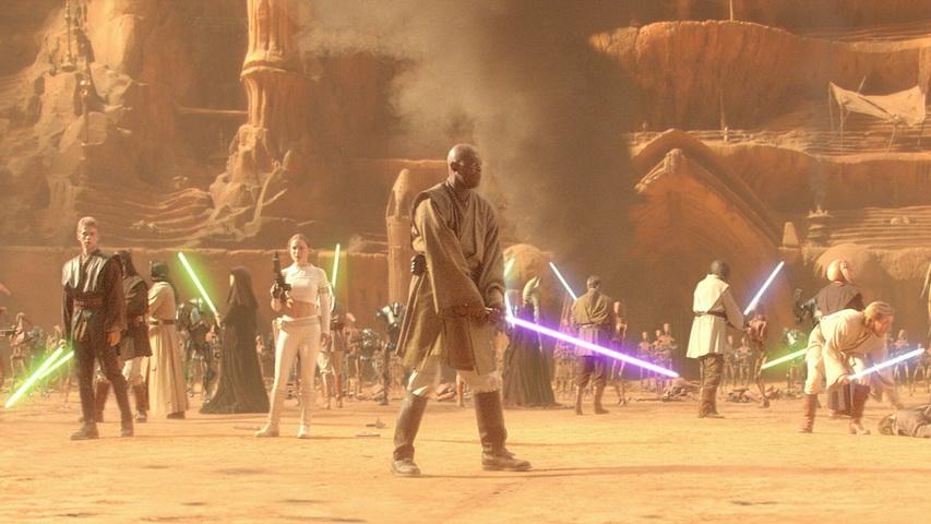 Кадр из фильма «Звездные войны: Атака клонов»