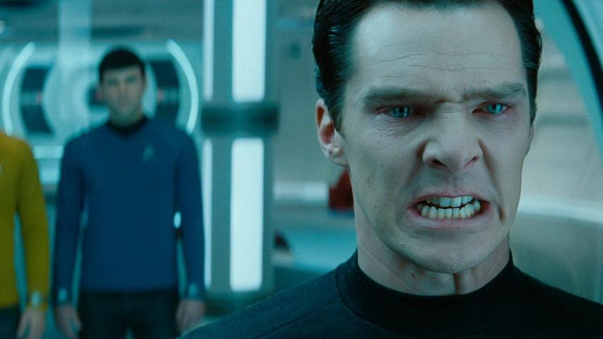Кадр из фильма «Стартрек: Возмездие»