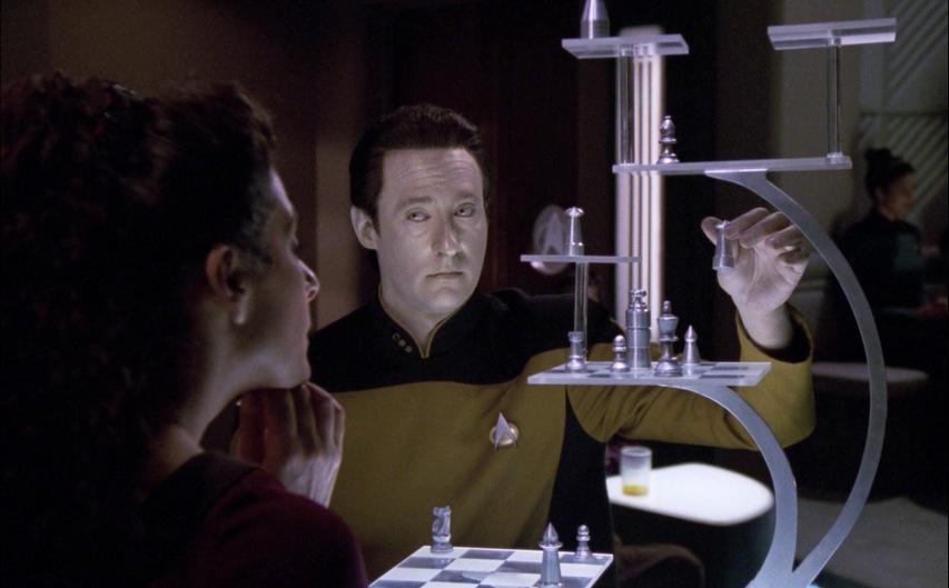 Кадр из сериала «Звездный путь: Новое поколение»