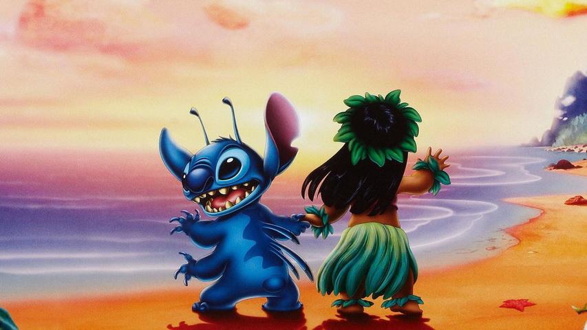 Кадр из мультфильма «Лило и Стич»