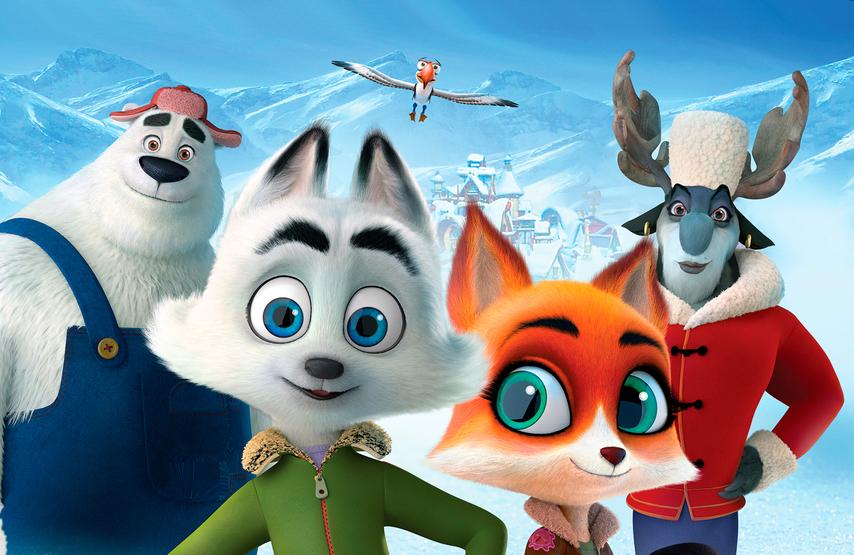 Кадр из фильма «Стражи Арктики»