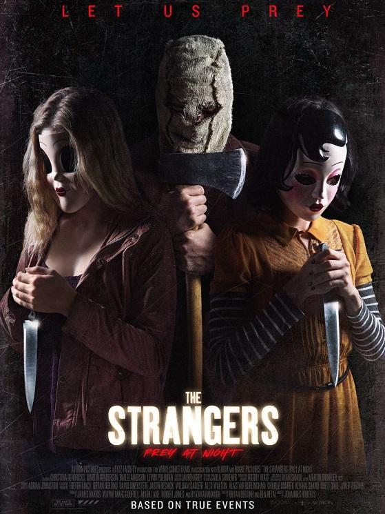 Постер фильма «Незнакомцы: Ночная молитва»