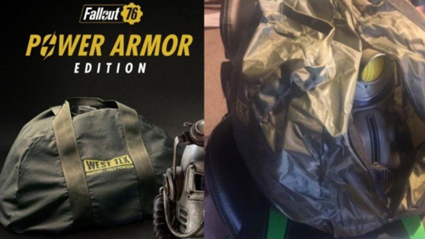 Маркетинговая компания и вещи Fallout 76