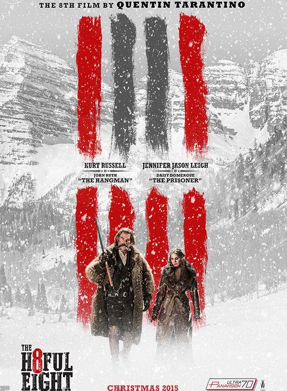 Постер фильма «Омерзительная восьмерка»