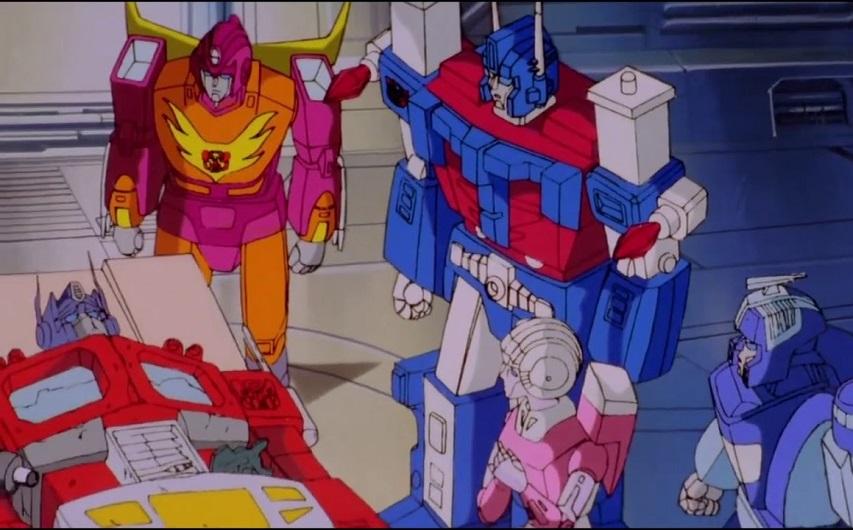 Кадр из мультфильма «Трансформеры»