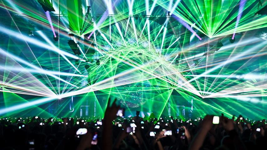 Electro Party. Фото с сайта q-dance.tumblr.com