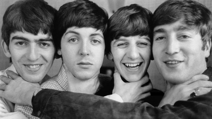 Группа The Beatles. Фото с сайта weheartit.com