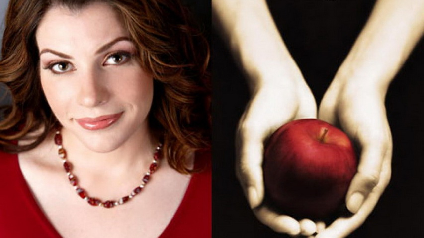 Писательница Стефани Майер и обложка ее книги «Сумерки». Изображение с сайта nydailynews.com