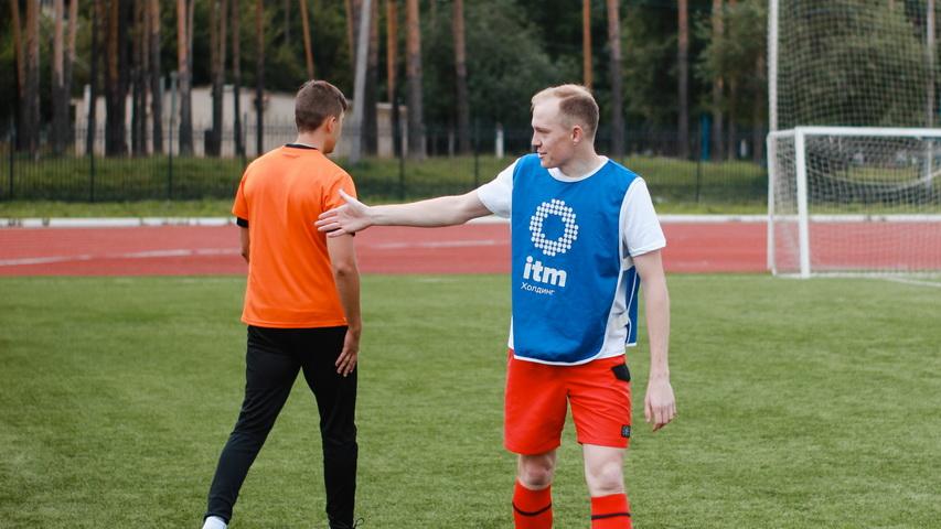 Сборная ITM Холдинга футболу. Фото Weburg