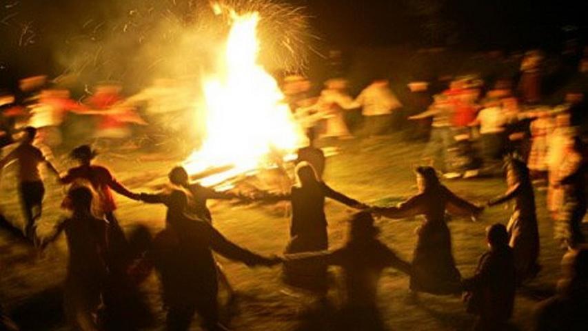 Языческий праздник. Фото с сайта mestasily.org