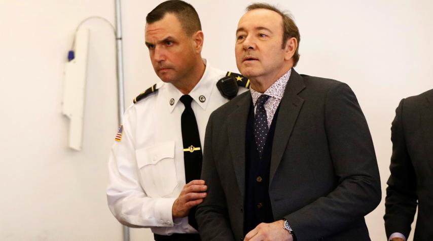 Спейси в суде. Фото с сайта gazeta.ru
