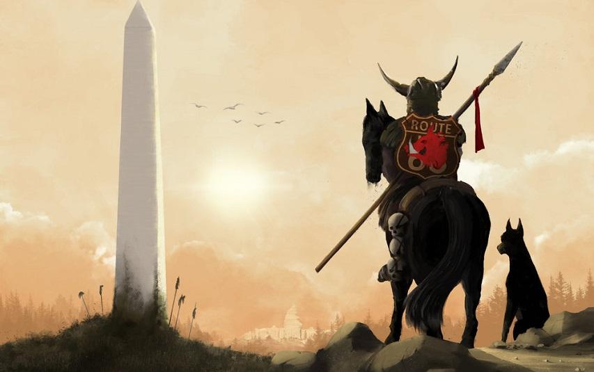 Кадр из комикса «Темные века»