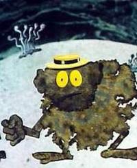 Кадр из мультфильма «Загадочная планета»