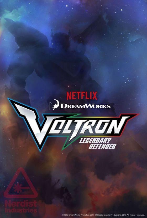 Постер мультсериала «Вольтрон»