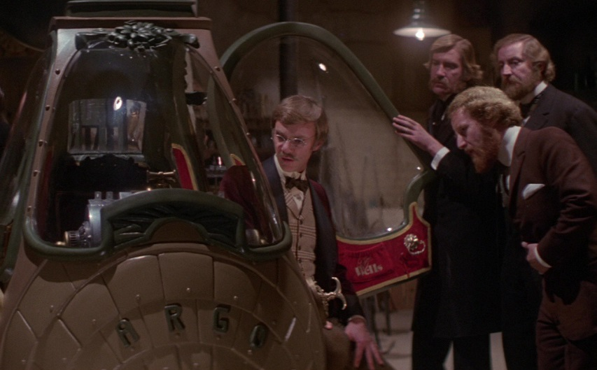 Кадр из фильма «Путешествие в машине времени»