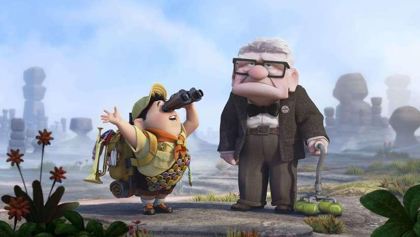 Кадр из фильма «Вверх»