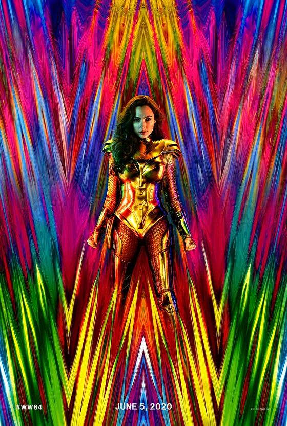 Постер фильма «Чудо-Женщина 1984»