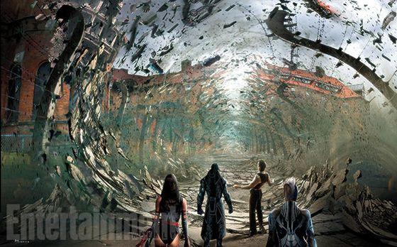 Концепт фильма «Люди Икс: Апокалипсис»