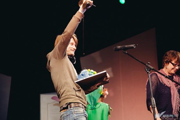 Олег Ягодин — лучший актер года по версии «Браво!». Фото (С) Weburg.net