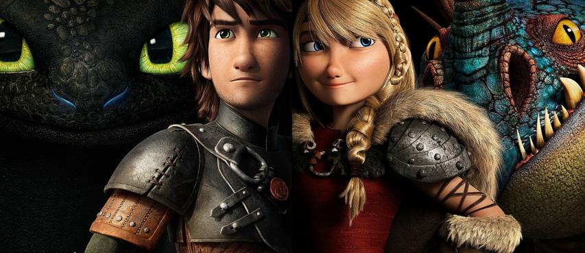 Постер к мультфильму «Как приручить дракона 2»