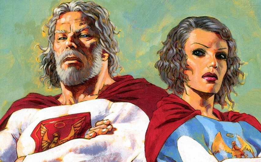 Кадр из комикса «Наследие Юпитера»