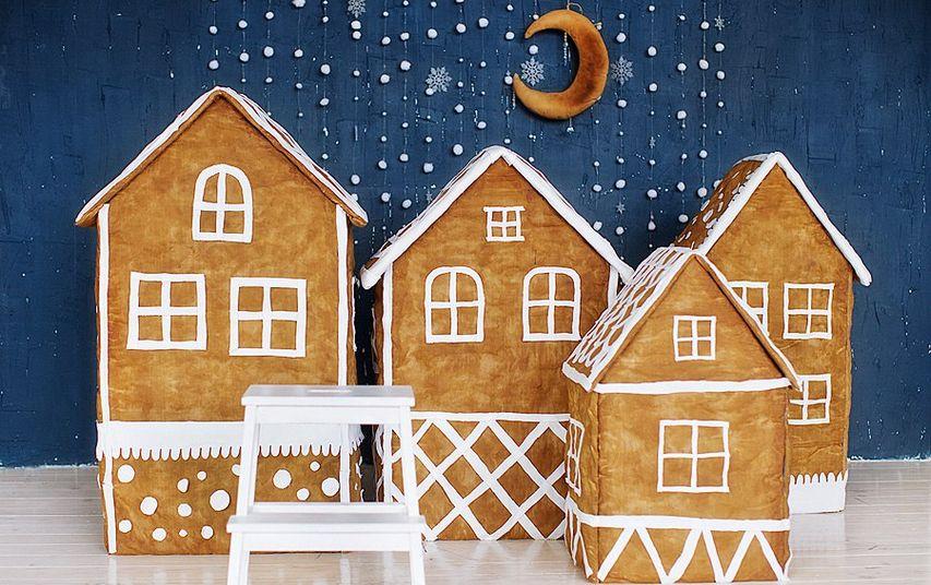 Новогодние домики. Фото с сайта angy-photography.ru